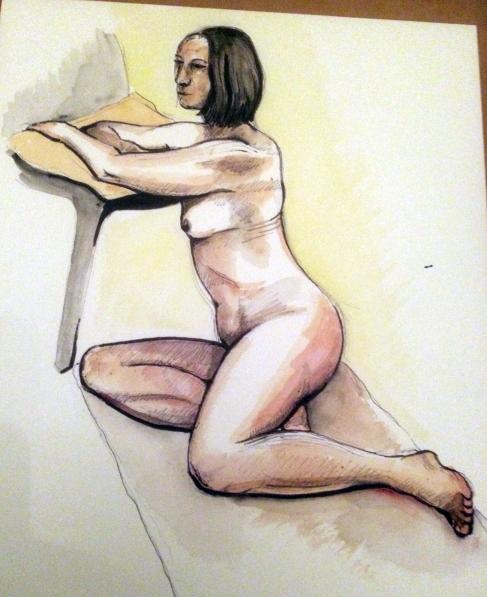 12/12/18 20 minute sketch of Julie