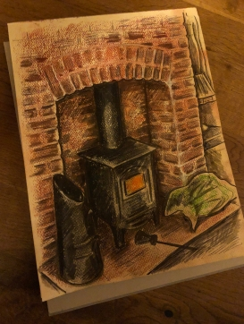 Fireplace sketch